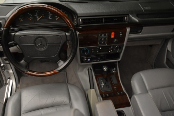 Used 1999 Mercedes Benz G500 Cabriolet for sale Sold at Bentley Greenwich in Greenwich CT 06830 25