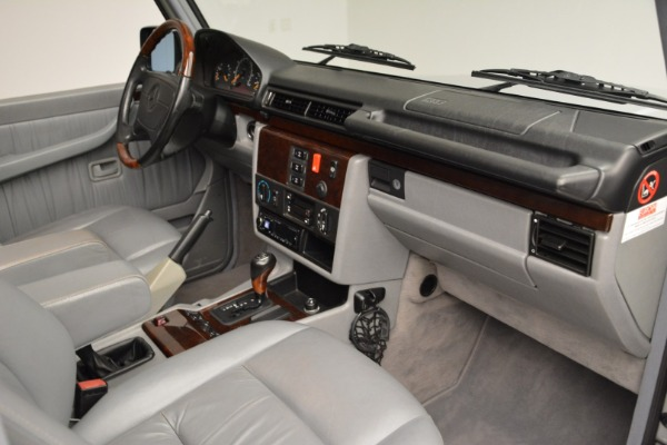Used 1999 Mercedes Benz G500 Cabriolet for sale Sold at Bentley Greenwich in Greenwich CT 06830 26