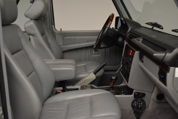 Used 1999 Mercedes Benz G500 Cabriolet for sale Sold at Bentley Greenwich in Greenwich CT 06830 27