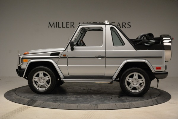 Used 1999 Mercedes Benz G500 Cabriolet for sale Sold at Bentley Greenwich in Greenwich CT 06830 3