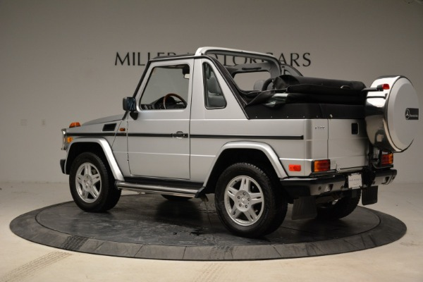 Used 1999 Mercedes Benz G500 Cabriolet for sale Sold at Bentley Greenwich in Greenwich CT 06830 4