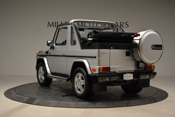 Used 1999 Mercedes Benz G500 Cabriolet for sale Sold at Bentley Greenwich in Greenwich CT 06830 5
