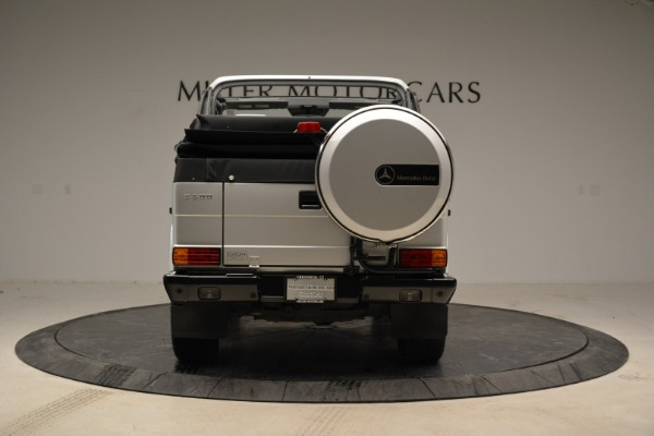 Used 1999 Mercedes Benz G500 Cabriolet for sale Sold at Bentley Greenwich in Greenwich CT 06830 6