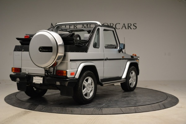 Used 1999 Mercedes Benz G500 Cabriolet for sale Sold at Bentley Greenwich in Greenwich CT 06830 7