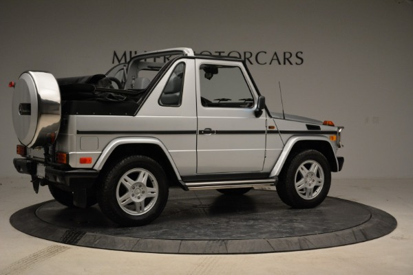 Used 1999 Mercedes Benz G500 Cabriolet for sale Sold at Bentley Greenwich in Greenwich CT 06830 8