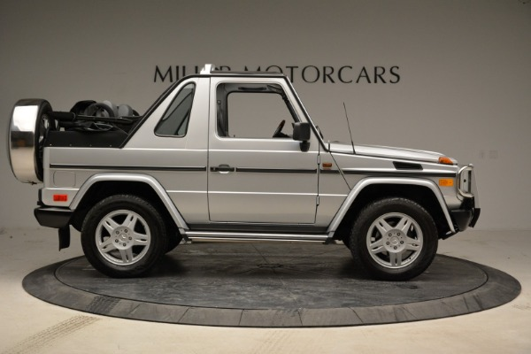 Used 1999 Mercedes Benz G500 Cabriolet for sale Sold at Bentley Greenwich in Greenwich CT 06830 9