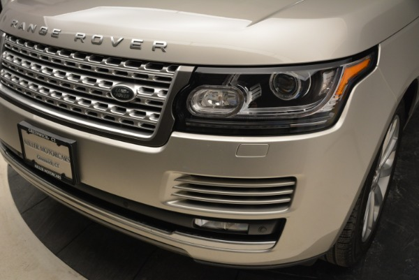 Used 2016 Land Rover Range Rover HSE for sale Sold at Bentley Greenwich in Greenwich CT 06830 14