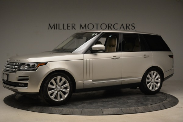 Used 2016 Land Rover Range Rover HSE for sale Sold at Bentley Greenwich in Greenwich CT 06830 2