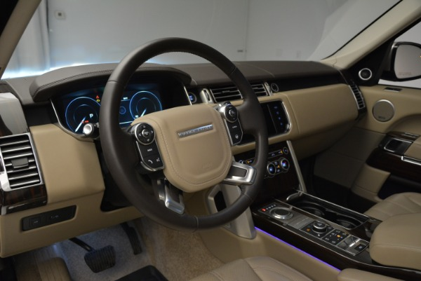 Used 2016 Land Rover Range Rover HSE for sale Sold at Bentley Greenwich in Greenwich CT 06830 20