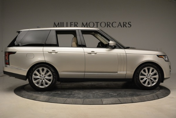 Used 2016 Land Rover Range Rover HSE for sale Sold at Bentley Greenwich in Greenwich CT 06830 9
