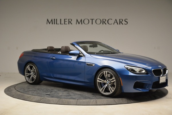 Used 2013 BMW M6 Convertible for sale Sold at Bentley Greenwich in Greenwich CT 06830 10