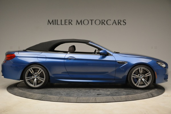 Used 2013 BMW M6 Convertible for sale Sold at Bentley Greenwich in Greenwich CT 06830 21