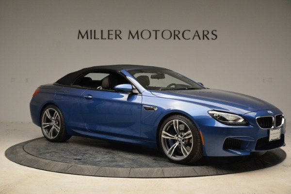 Used 2013 BMW M6 Convertible for sale Sold at Bentley Greenwich in Greenwich CT 06830 22