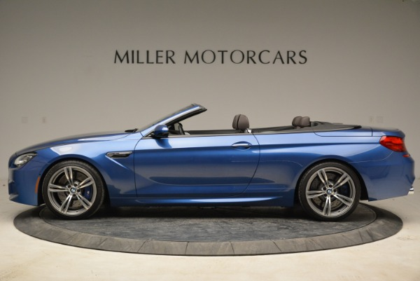 Used 2013 BMW M6 Convertible for sale Sold at Bentley Greenwich in Greenwich CT 06830 3