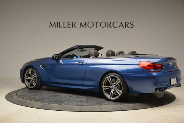 Used 2013 BMW M6 Convertible for sale Sold at Bentley Greenwich in Greenwich CT 06830 4