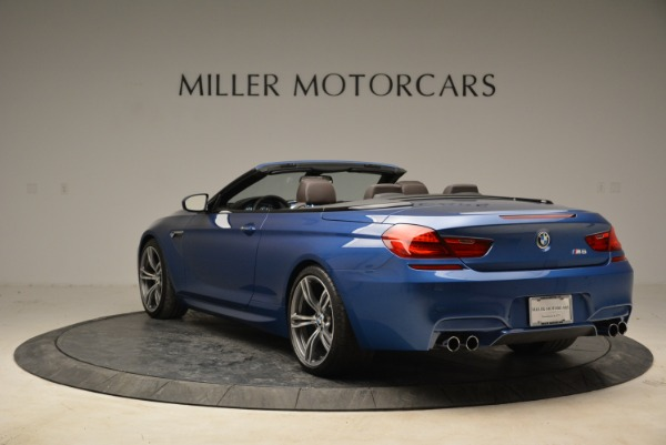 Used 2013 BMW M6 Convertible for sale Sold at Bentley Greenwich in Greenwich CT 06830 5