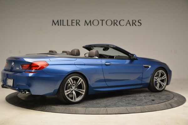 Used 2013 BMW M6 Convertible for sale Sold at Bentley Greenwich in Greenwich CT 06830 8