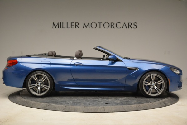 Used 2013 BMW M6 Convertible for sale Sold at Bentley Greenwich in Greenwich CT 06830 9