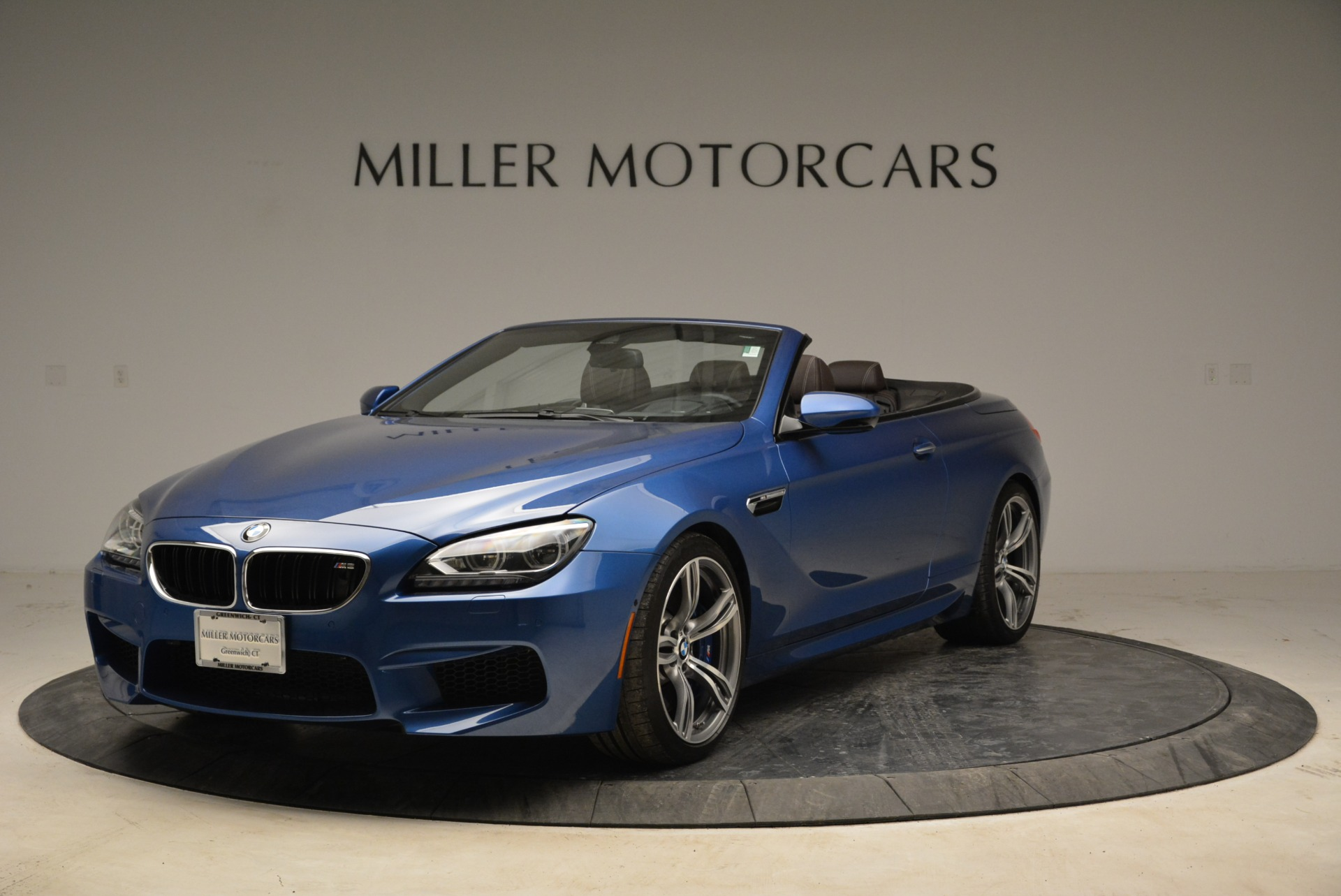 Used 2013 BMW M6 Convertible for sale Sold at Bentley Greenwich in Greenwich CT 06830 1