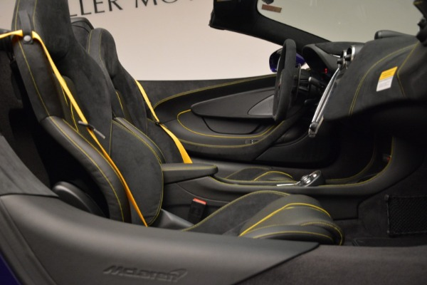 New 2018 McLaren 570S Spider for sale Sold at Bentley Greenwich in Greenwich CT 06830 27
