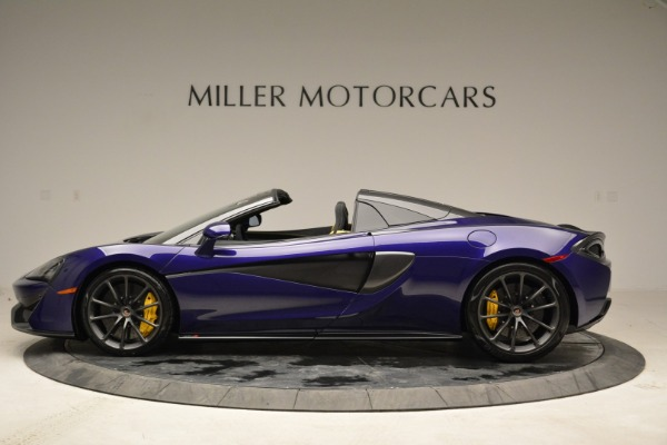 New 2018 McLaren 570S Spider for sale Sold at Bentley Greenwich in Greenwich CT 06830 3