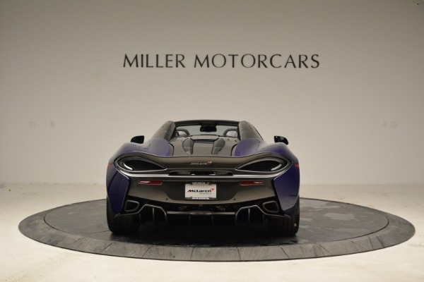 New 2018 McLaren 570S Spider for sale Sold at Bentley Greenwich in Greenwich CT 06830 5