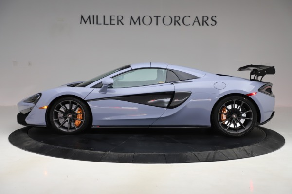 Used 2018 McLaren 570S Spider for sale $167,900 at Bentley Greenwich in Greenwich CT 06830 11