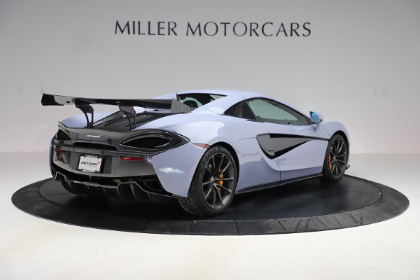 Used 2018 McLaren 570S Spider for sale $167,900 at Bentley Greenwich in Greenwich CT 06830 14