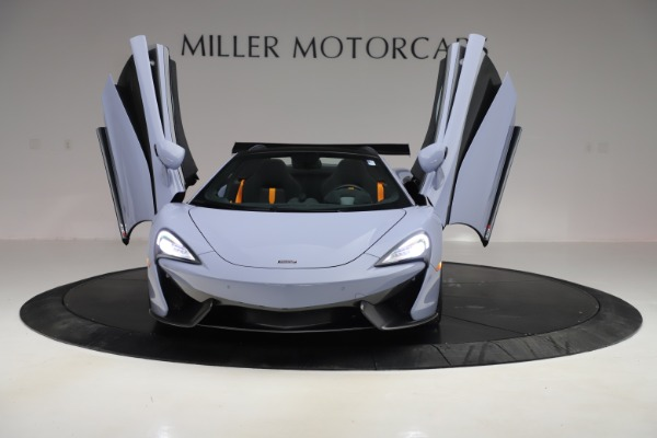 Used 2018 McLaren 570S Spider for sale $167,900 at Bentley Greenwich in Greenwich CT 06830 17