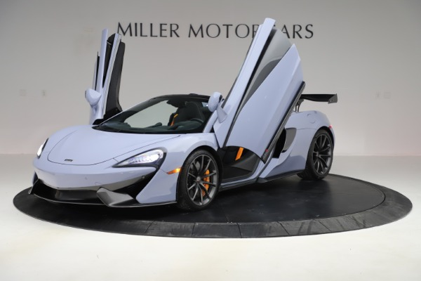 Used 2018 McLaren 570S Spider for sale $167,900 at Bentley Greenwich in Greenwich CT 06830 18
