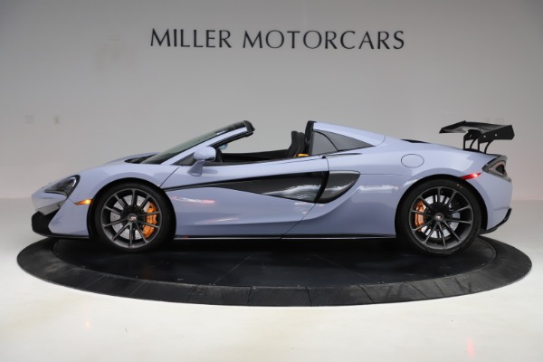 Used 2018 McLaren 570S Spider for sale $167,900 at Bentley Greenwich in Greenwich CT 06830 2