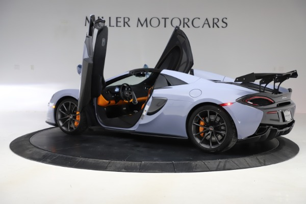 Used 2018 McLaren 570S Spider for sale $167,900 at Bentley Greenwich in Greenwich CT 06830 20