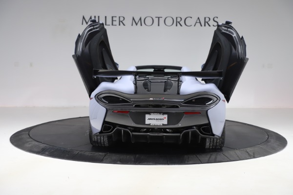 Used 2018 McLaren 570S Spider for sale $167,900 at Bentley Greenwich in Greenwich CT 06830 21