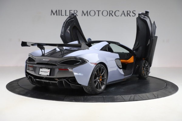 Used 2018 McLaren 570S Spider for sale $167,900 at Bentley Greenwich in Greenwich CT 06830 22