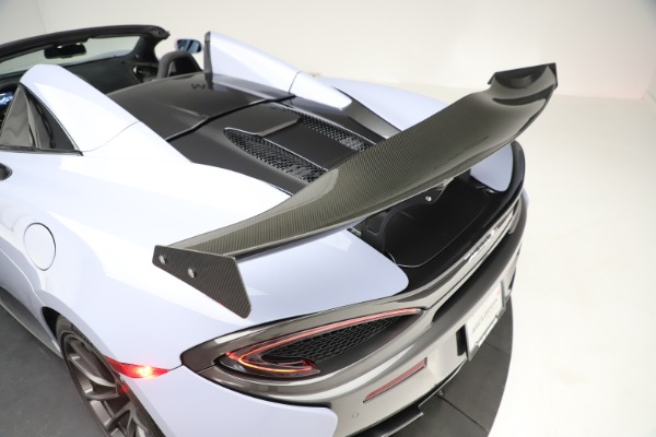 Used 2018 McLaren 570S Spider for sale $167,900 at Bentley Greenwich in Greenwich CT 06830 26