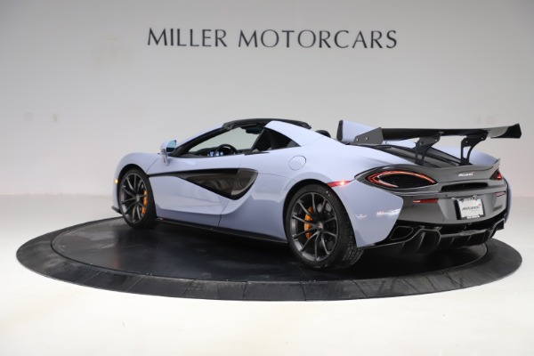 Used 2018 McLaren 570S Spider for sale $167,900 at Bentley Greenwich in Greenwich CT 06830 3