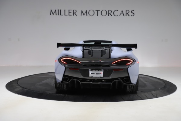 Used 2018 McLaren 570S Spider for sale $167,900 at Bentley Greenwich in Greenwich CT 06830 4