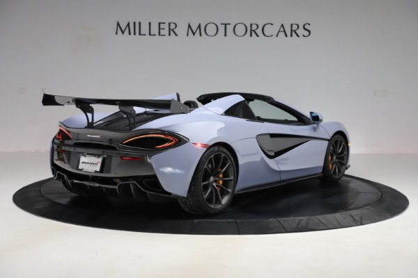 Used 2018 McLaren 570S Spider for sale $167,900 at Bentley Greenwich in Greenwich CT 06830 5