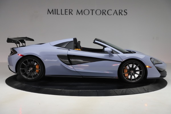 Used 2018 McLaren 570S Spider for sale $167,900 at Bentley Greenwich in Greenwich CT 06830 6