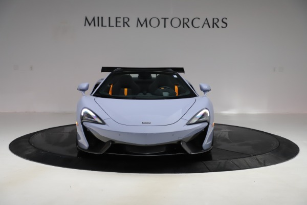 Used 2018 McLaren 570S Spider for sale $167,900 at Bentley Greenwich in Greenwich CT 06830 8