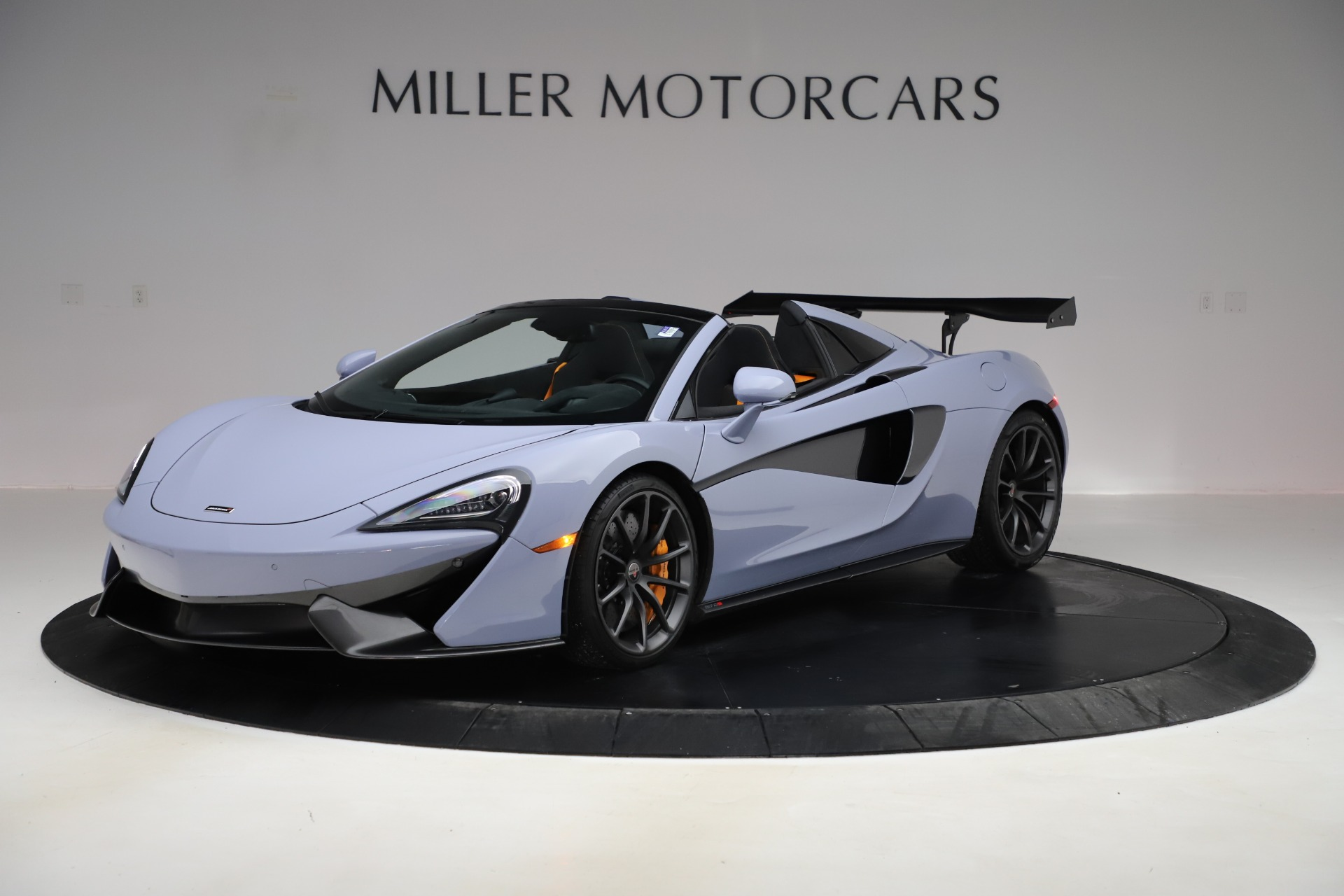 Used 2018 McLaren 570S Spider for sale $167,900 at Bentley Greenwich in Greenwich CT 06830 1