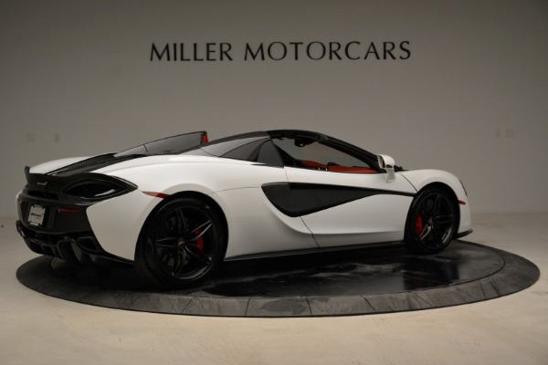 New 2018 McLaren 570S Spider for sale Sold at Bentley Greenwich in Greenwich CT 06830 8