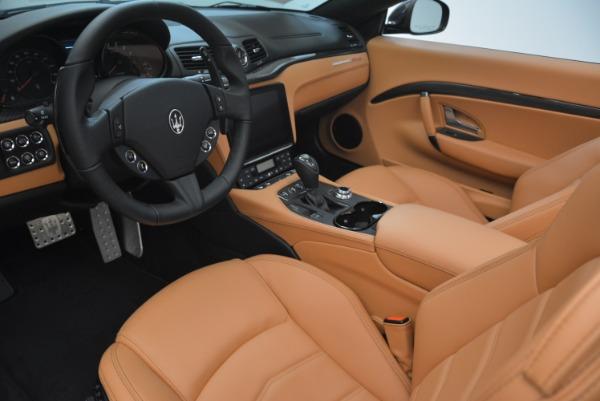 New 2018 Maserati GranTurismo MC Convertible for sale Sold at Bentley Greenwich in Greenwich CT 06830 24