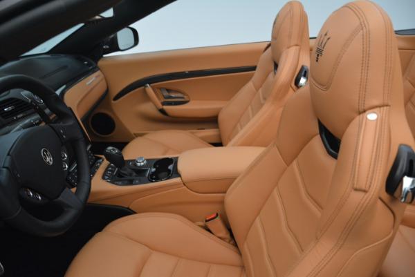 New 2018 Maserati GranTurismo MC Convertible for sale Sold at Bentley Greenwich in Greenwich CT 06830 25
