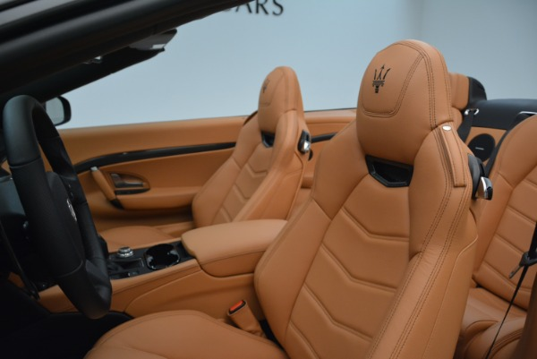 New 2018 Maserati GranTurismo MC Convertible for sale Sold at Bentley Greenwich in Greenwich CT 06830 26