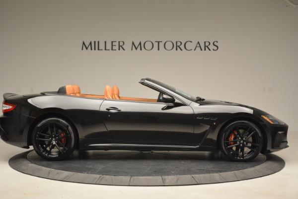 New 2018 Maserati GranTurismo MC Convertible for sale Sold at Bentley Greenwich in Greenwich CT 06830 8