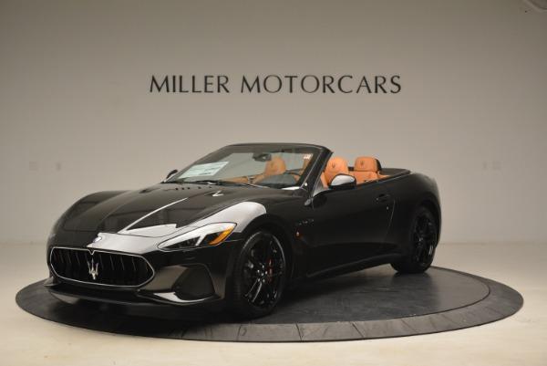 New 2018 Maserati GranTurismo MC Convertible for sale Sold at Bentley Greenwich in Greenwich CT 06830 1