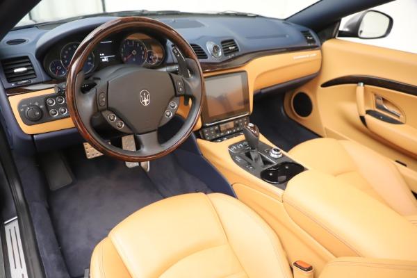 Used 2018 Maserati GranTurismo Sport Convertible for sale $99,900 at Bentley Greenwich in Greenwich CT 06830 19