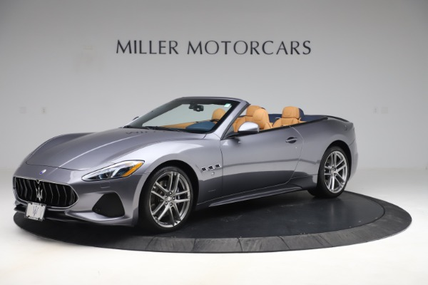 Used 2018 Maserati GranTurismo Sport Convertible for sale Sold at Bentley Greenwich in Greenwich CT 06830 2