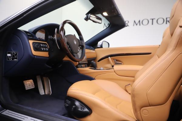 Used 2018 Maserati GranTurismo Sport Convertible for sale $99,900 at Bentley Greenwich in Greenwich CT 06830 20